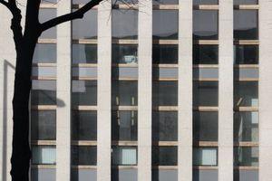 Fassadendetail Südostansicht