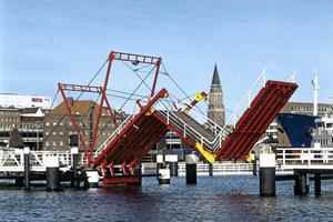 Faltbrücke Kiel-Hörn