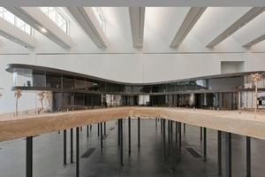 Das Entwurfsmodell ist schon jetzt ein beeindruckendes Ausstellungsstück im LACMA