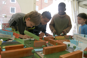 Workshops verschafften dem Projekt eine weitreichende Anerkennung in der Nachbarschaft