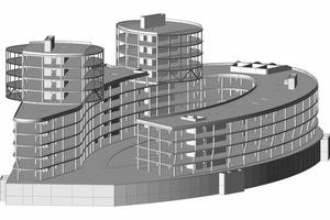"""<div class=""""13.6 Bildunterschrift"""">Gebäudemodell </div>"""