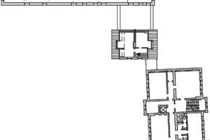 1. Obergeschoss, M 1:750