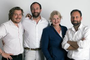 v.l.: Lars Krückeberg, Wolfram Putz, Marianne Birthler, Thomas Willemeit
