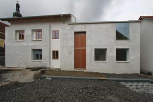Ebenfalls Teil des sozialen Engagements: ein neues Bürgerhaus in Blaibach (ebenfalls Peter Haimerl.Architektur)