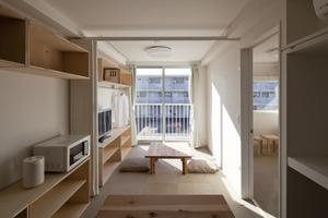 Container Temporary Housing, 2011, Onagawa, Miyagi, Japan