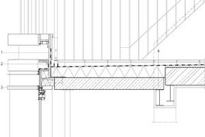"""<div class=""""10.6 Bildunterschrift"""">Detailschnitt Dachterrasse, M 1:25</div>"""
