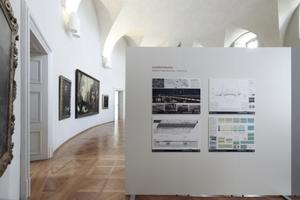 Preisträgerausstellung im Ovalsaal