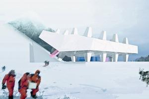 Mammoth and Permafrost Museum in Yakutsk, Wettbewerbsentwurf 2007<br />