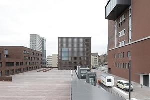 Vom Dach in Richtung Osten, Innenstadt