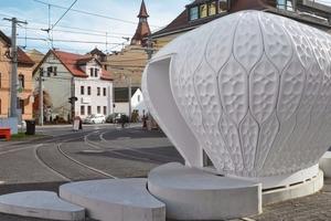 Cocoon_FS, hier ein Ausstellungspavillon in Jena<br />