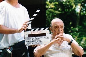 Niemeyer in dem wunderbaren Film A Vida é um Sopro<br />