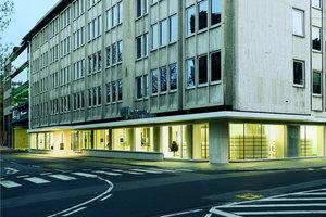 Im Erdgeschoss eines Gebäudes aus den Sechzigern ist das neue Kundenzentrum der WGV-Versicherungsgruppe eingezogen