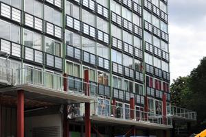 9 Die Unterkonstruktion für die Balkone<br />