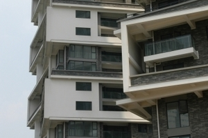 Vertical Courtyard Apartments, 2002-2007, Hangzhou, China