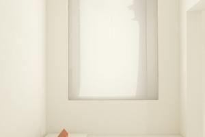 Tageslicht in Seitengalerie im OG. Die alten Fensteröffnungen wurden nach innen hin modernisiert.