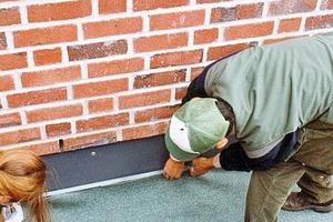 Verlegung Textilvlies zur Dachbegrünung