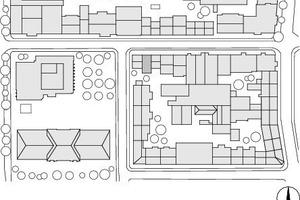 Lageplan, M 1 : 2 500