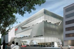 Corporate Architecture für Audi in Frankfurt<br />