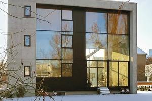 Wohnhaus mit Außenwänden aus Infraleichtbeton (ausührlicher Bericht siehe DBZ 11/2009)
