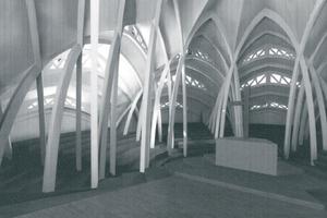 Computersimulation der Sternkirche von Otto Bartning