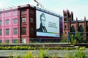 Noch eine Fassadenarchitektur, bald schon Realität? Die Schinkelsche Bauakademie in Berlin