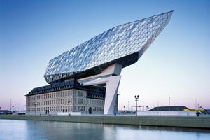 "Aufstockung ""Port House"" in Antwerpen"