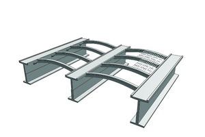 Tunnelkonstruktion Ansicht