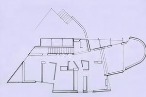 Haus Königseder, Aufstockung Arzthaus, Baumgartenberg (Österreich), 1977–1980, Grundriss