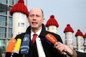Bundesumweltminister Tiefensee