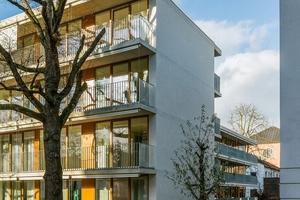 Preisgekrönt: Seniorenwohnhaus St. Josef, Frankfurt am Main Verfasser: Waechter + Waechter Architekten BDA, Darmstadt Bauherr: Caritas Verband, Frankfurt am Main