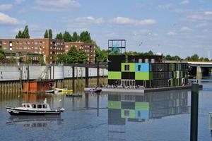 Das Büro- und Aussstellungsgebäude IBA-Dock