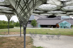 Elytra Filament Pavilion auf dem Vitra Campus 2017