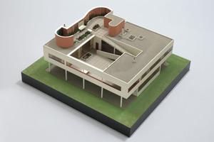 Villa Savoye Poissy-sur-Seine (1929-31). Modell