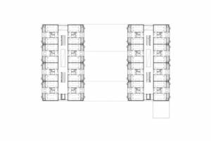 """<div class=""""10.6 Bildunterschrift"""">Typische Grundrisse Studentenwohnheim am Fluss</div>"""