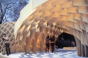 Im letzten Jahr eine Schönheit, die es in 2009 zu übertreffen gilt, der temporäre Pavillon von Valeria García Abarca