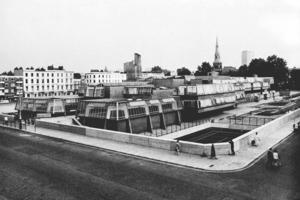 John Bancroft: Pimlico School, London (1967) – abgerissen<br />