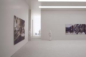Erweiterungsbau Küppersmühle, Ausstellung<br />