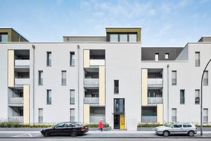 Carlswerkquartier in Köln-Buchheim Bauherr: GAG Immobilien AG, Köln Architektur: Molestina Architekten Gesellschaft für Architektur mbH, Köln Landschaftsarchitektur: FSWLA Landschaftsarchitektur GmbH, Düsseldorf