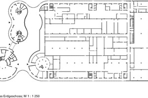 Grundriss, M 1:1250