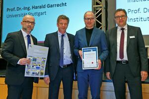Ausgezeichnet: Prof. Dr.-Ing. Harald Kloft