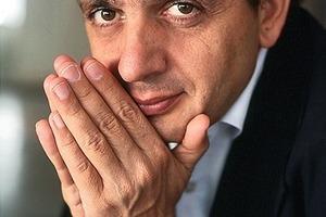 "Hadi Tehrani und Kollegen auf dem ""itf internationales trockenbauforum"" Ulm<br />"