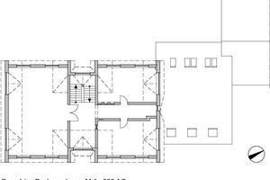 Grundriss Dachgeschoss, M 1:333 <sup>1</sup>/3