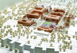 Neubau Institutsgebäude Rechtswissenschaft / Wirtschaftswissenschaften 2. Preis