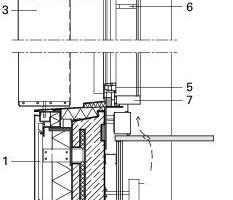 Fassadenschnitt, M 1:33<sup>1</sup>/3