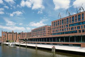 Nominiert: Elbarkaden im Osten der Hamburger HafenCity