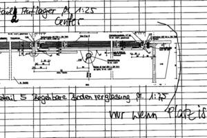 Detail 5 Begehbare Bodenverglasung, M 1:7,5<br />