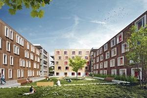 Laerheide, Bochum: Ein ehemaliges Bergbaugelände nahe der Ruhruniversität wird mit Variowohnungen revitalisiert