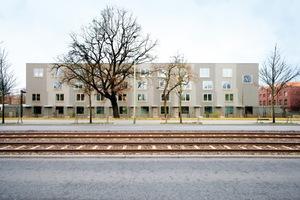 Anerkennung: Berlin-Lichtenberg, Vicki-Baum-Straße. Baugruppe 'ELF FREUNDE' –Wohnprojekt Rummelsburger Bucht