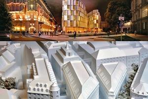 Oben: Zeitgenössisches aus Madrid, unten Emphatie hinter Mineralputz