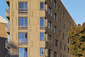 Feste Spielregeln auch bei der Fassade: nur drei verschiedene Fens-terformate, keine bodengleichen Fenster